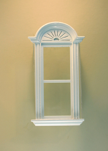 Newport Plain Single Window White