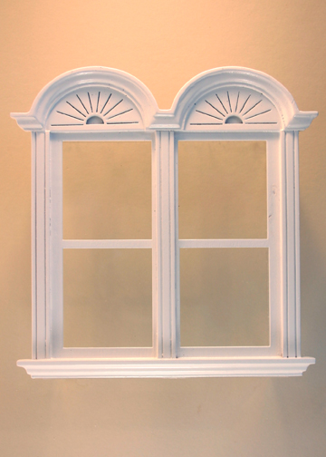 Newport Plain DoubleWindow White