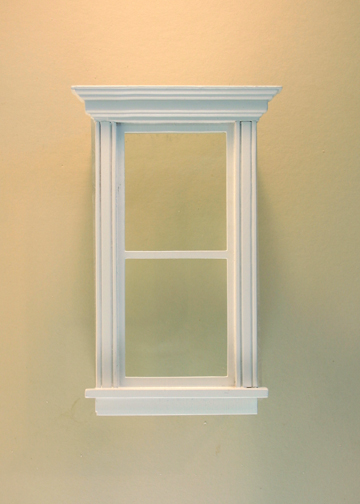 Atherton Plain Single Window White