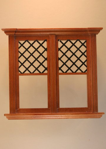 Westfield Decorated DoubleWindow Stained